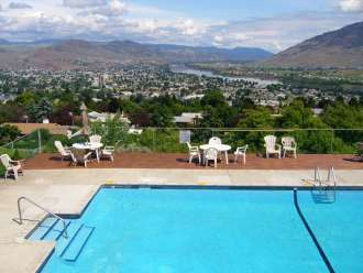 hospitality inn kamloops outdoor heated pool